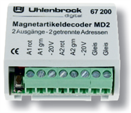 MD2 magnet article decoder